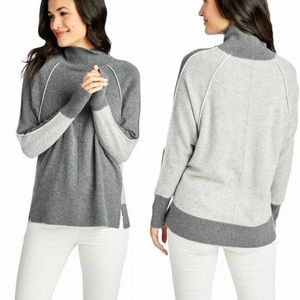 Vineyard Vines Raglan Turtleneck Cashmere Sweater